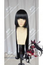 Gate: Jieitai Kanochi nite, Kaku Tatakaeri Rory Mercury Black Cosplay Party Wig