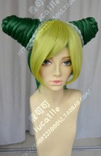 JoJo's Bizarre Adventure Jolyne Cujoh different Color Combination  Cosplay Party Wig