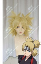 Naruto Temari Sand Golden 4 Ponytails Style Cosplay Party Wig