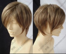 Shin Megami Tensei: Persona 3 Ken Amada Tan Short Cosplay Party Wig