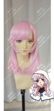 Concrete Revolutio Emi Kino Pink Mix Violet 60cm Straight Cosplay Party Wig
