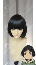 Boku Dake ga Inai Machi Hiromi Sugita Black Short Cosplay Party Wig