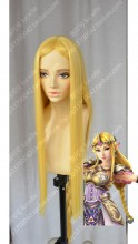 The Legend of Zelda Princess Zelda Golden Cosplay Party Wig