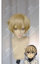 Boku Dake ga Inai Machi Kenya Biscuit Short Cosplay Party Wig