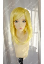 Discount!Ayamo Fashion Long Bang Golden Short Cosplay Party Wig