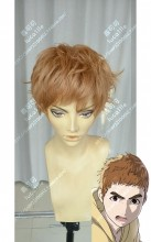 Ajin: Demi-Human Kō Nakano Soft Brown Short Cosplay Party Wig
