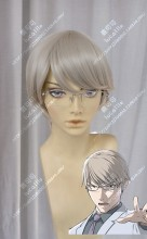 Ajin: Demi-Human Yū Tosaki Oyster White Short Cosplay Party Wig