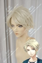 NORN9 Yuiga Kakeru White Lily Short Cosplay Party Wig