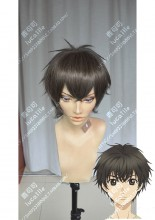 Super Lovers Ren Kaidō Nut Mix Black Short Cosplay Party Wig