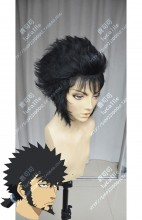 Dimension W Kyouma Mabuchi Black Fullback Style Cosplay Party Wig