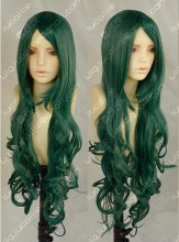 Ayamo Fashion Dark Green Curly Cosplay Party Wig