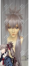 Fire Emblem if Takumi Rose Dust Mix Powder Pink Ponytail Style Cosplay Party Wig