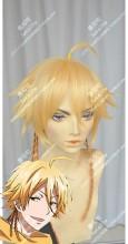 SERVAMP Mikuni Alicein Mix Golden Short Ponytail Style Cosplay Party Wig