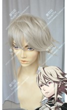 Fire Emblem if Corrin Male Champagne Short Cosplay Party Wig