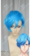 B-Project: Kodou*Ambitious Kento Aizome Marine Blue Mix Baby Blue Cosplay Party Wig