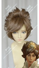 League of Legends Taliyah The Stoneweaver Saddlebrown Short Cosplay Party Wig