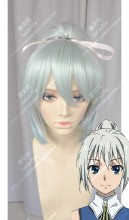 Taboo Tattoo Bluesy Fruesy Izzy PaleTurquoise Ponytail Style Cosplay Party Wig