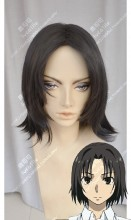 Taboo Tattoo Justice Akatsuka Seigi Black Center Parting Short Cosplay Party Wig