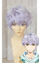 Magic★Kyun! Renaissance Tsukushi Monet Thistle Short Curly Cosplay Party Wig
