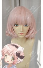 Magical Girl Raising Project Snow White Sakura Pink Short Cosplay Party Wig