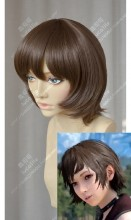 Final Fantasy XV Iris Amicitia Coffee Short Cosplay Party Wig