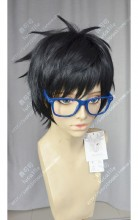 Yuri!!! on Ice Yuri Katsuki Black Short Cosplay Party Wig