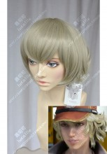 Final Fantasy XV Cindy Aurum Melon Yellow Short Cosplay Party Wig