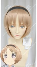 Magical Girl Raising Project Yunael Vanilla Short Cosplay Party Wig
