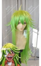 Nanbaka - The Numbers Nico Chartreuse Yellow Gradient Spring Green 100cm Cosplay Party Wig