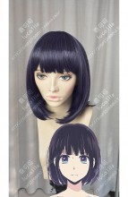 Scum's Wish Kuzu no Honkai Hanabi Yasuraoka Purple Short Cosplay Party Wig
