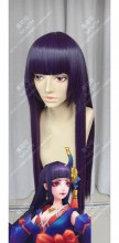 Onmyoji Oni-onna Kouyou Purple 70cm Straight Cosplay Party Wig
