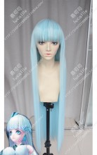 Onmyoji Yuki-onna Baby Blue 100cm Straight Cosplay Party Wig