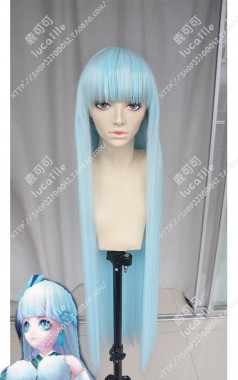 Onmyoji Yuki Onna Baby Blue 100cm Straight Cosplay Party
