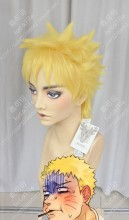 Boruto: Naruto Next Generations Naruto Uzumaki Lemon Yellow Short Cosplay Party Wig