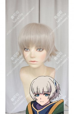 Re:CREATORS Meteora Österreich Ecru Short Cosplay Party Wig