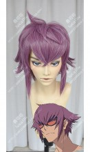 Re:CREATORS Yūya Mirokuji Orchid Purple Short Cosplay Party Wig