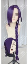 Re:CREATORS Magane Chikujōin 100cm Deep Royal Purple Straight Cosplay Party Wig