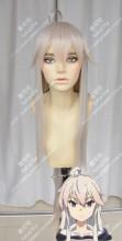 Grimoire of Zero Zero 100cm Beige Rose Mix Gray Blue Straight Cosplay Party Wig