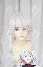 Kado: The Right Answer Yaha-kui zaShunina Silver Gray Mix Pink Short Cospaly Party Wig