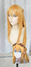 The King's Avatar SuMucheng 80cm Golden Yellow Cosplay Party Wig