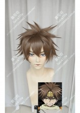Saiyuki Son Goku Dark Cinnamon Short Cosplay Party Wig