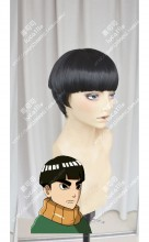 Boruto: Naruto Next Generations Metal Lee Black Short Cosplay Party Wig