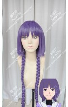 Boruto: Naruto Next Generations Kakei Sumire Shigaraki Sumire 100cm Purple Ponytail Style Cosplay Party Wig