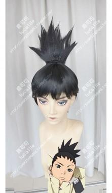 Boruto: Naruto Next Generations Nara Shikadai Black Ponytail Short Cosplay Party Wig