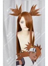 Boruto: Naruto Next Generations Akimichi Chouchou Caramel 2 Ponytails Style 100cm Cosplay Party Wig
