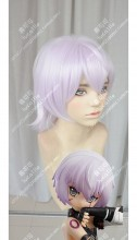 Fate/Apocrypha Assassin of Black Jack the Ripper Light Purple Short Cosplay Party Wig