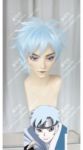 Boruto: Naruto Next Generations Mitsuki Light Blue Short Cosplay Party Wig