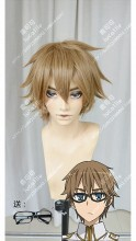 Fate/Apocrypha Berserker of Blacks' Master Caules Forvedge Yggdmillennia Burlywood Short Cosplay Party Wig