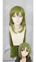 Fate/Apocrypha Assassin of Blacks' Master Reika Rikudou Olive Green 100cm Straight Cosplay Party Wig