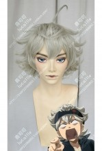 Black Clover Asta Reed Gray Short Cosplay Party Wig